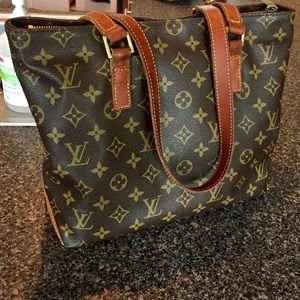 Louis Vuitton Bags - Louis Vuitton Monogram Cabas Piano Bag